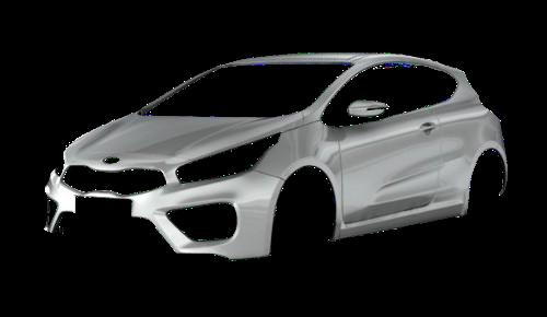 Цвета кузова Pro Ceed GT